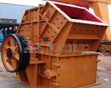 High-efficiency complex crusher product map