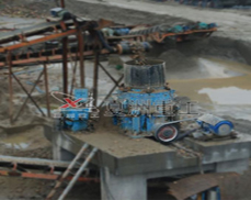 Hydraulic cone crusher on-site operation plans