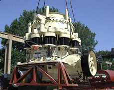 PYFH high performance cone crusher on-site operating plans